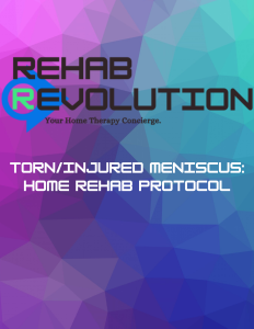If you have injured your meniscus, this Home Rehab Protocol will guide you through a curated program to rehab at home.